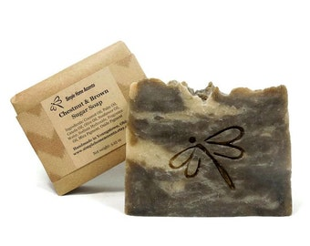 Chestnut Brown Sugar Soap, Handmade Soap, Vegan Soap, Gift under 10