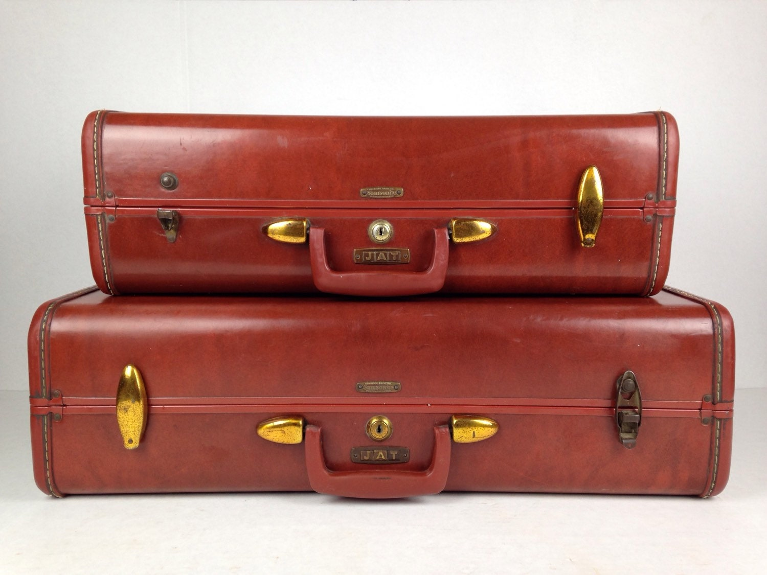 Vintage suitcase stack samsonite suitcase luggage vintage - Vintage suitcase ...