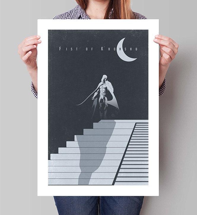 MOON KNIGHT Inspired Minimalist Poster Print