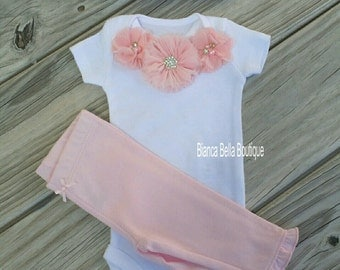 Baby Girl Take Home Outfit Preemie Outfit Newborn Outfit Going Home Outfit Coming Home Outfit Photo Prop Outfit Hospital Outfit