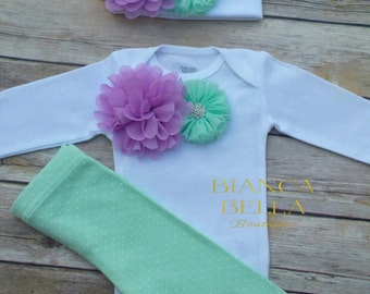 Newborn Take Home Outfit Baby Girl Outfit Newborn Outfit Coming Home Outfit  Going Home Outfit Baby Girl Photo Outfit Hospital Outfit