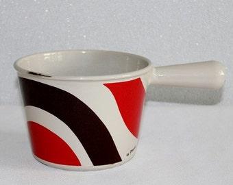 Le Creuset fondue pot. French vintage. Made in France. Vintage Le Creuset. French kitchen. Cast iron pot. Le creuset fondue // C175