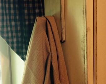 Primitive Wooden Towel Holder