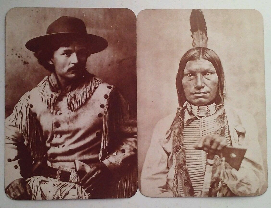 Vintage Old West Collectors Series Post Cards Henry Chee Dodge