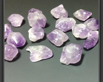 Amethyst beads- 20pc