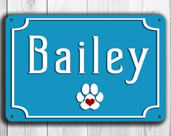 CUSTOM DOG SIGN, Personalized dog sign, Customizable Dog Sign, Personalized pet signs Dog name sign, Pet Gift, Gift for Pet Lover, Dog Signs