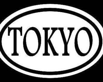 Tokyo Sticker Drift Decal Olympics Asain Sticker