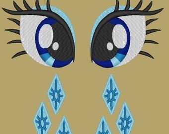 MLP:FiM Rarity Eye and Cutie Mark PES set