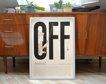 Off festival 2015 | screen print | 42x59 | limited of 18