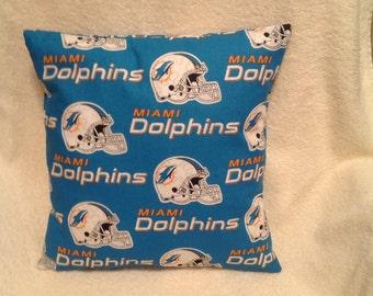 Miami Dolphins Pillow