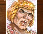 He-Man MOTU | Comic art | ACEO Original Art Card