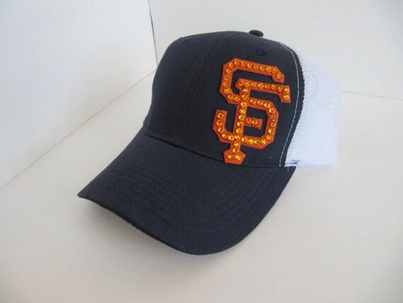 giants hat sf giants bling trucker hats sf giants bling