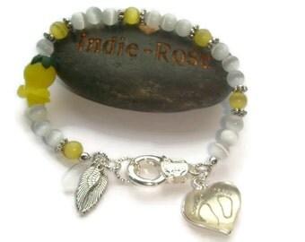 Pregnancy Loss Bracelet, Remembrance Token, Memorial Bracelet, Sorrow Token, Infant Loss Jewellery, Child Loss Jewelry, Sympathy Present