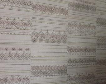 vintage 70er 80er jahre rolle tapete alt organische erde. Black Bedroom Furniture Sets. Home Design Ideas