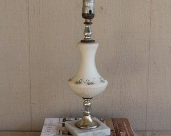 Beautiful Vintage Lamp Marble Base