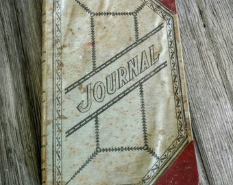 Vintage Income/Expenses Journal