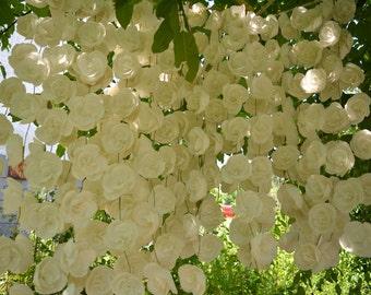 Wedding garland backdrop,Wedding Garland Curtain,Wedding Ceremony Backdrop,Rustic Wedding Backdrop,Wedding background,Wedding arch decor