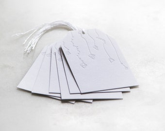 Ornament Gift Tags | Set of 6 | Howl Paper Studio