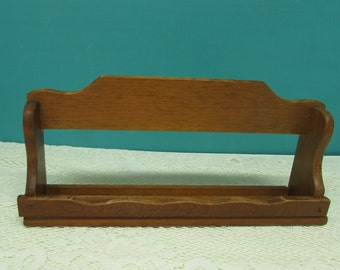 Wooden Spice Rack ~ Cosmetic Organizer ~ Craft Supply Storage ~ Wall Shelf ~ Country Décor ~ Counter Wooden Shelf