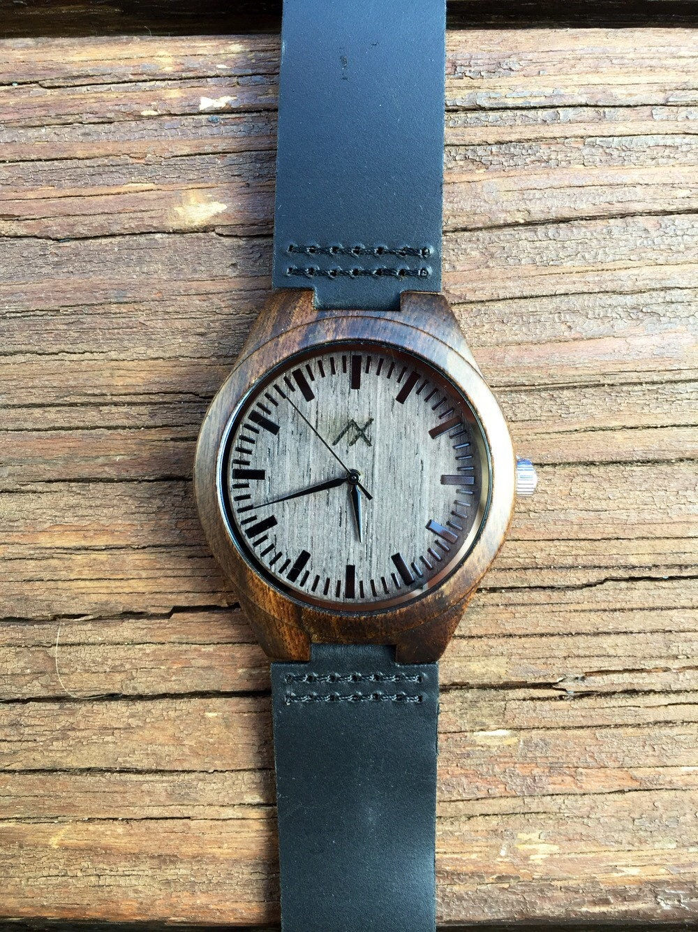 Wood watch minimalist wood watch engraved wooden wrist watch mens wooden watch gift for him for Watches engraved
