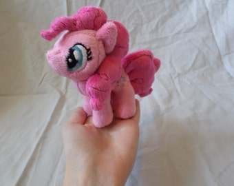 My Little Pony Friendship is Magic Handmade Custom 4.5'' Plush- Mini Pinkie Pie