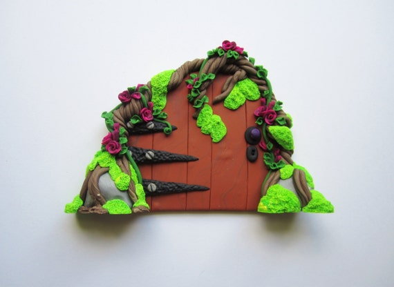 Fairy door fairy garden accessories miniatures gnome for Elf door accessories
