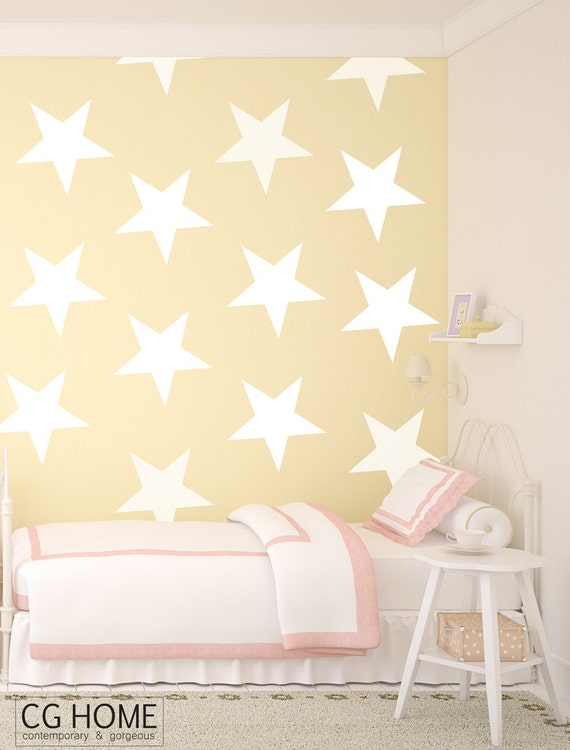 star WALL ART stars 9.5 inch STAR pattern Stars Wall Decal vinyl sticker CGhome