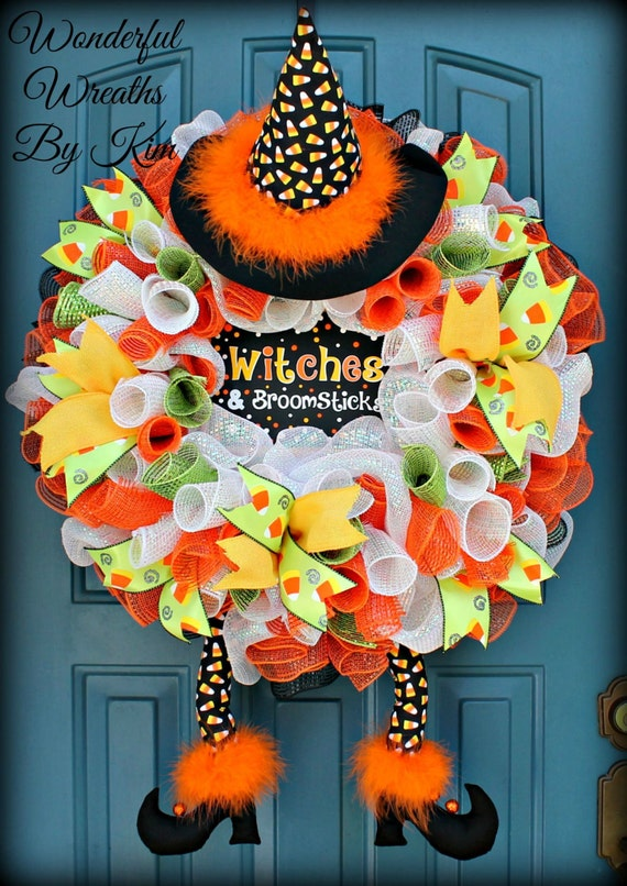 like this item - Halloween Candy Wreath