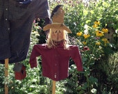 Primitive scarecrow, Primitive, Fall Primitive Decor, Scarecrow Yard art, country Primitive , FAAP, OFG team, Primitive fall scarecrow