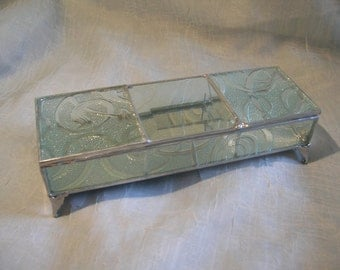 3 Section Glass Box