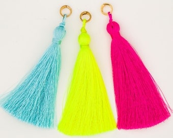 Very Allegra Taste the Rainbow Set of 3 Tassels