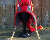 Crocheted Dragon Hat boys