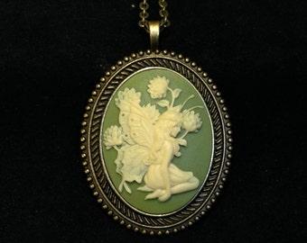 Fairy Cameo Pendant