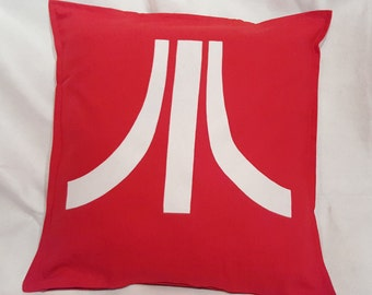 "Atari pillow cover - 20 x 20"" with zip, 100% cotton"