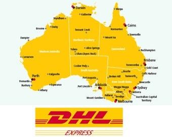 Express shipping to Australia