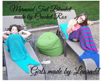 Mermaid tail blanket, shark tail blanket, gator tail blanket, pretend play novelty blanket