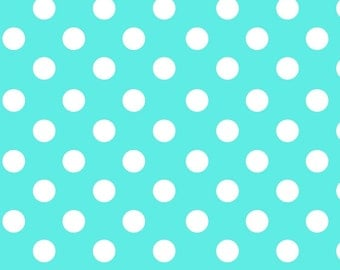 New !!On Sale !!Dots Fleece Fabric by the yard...