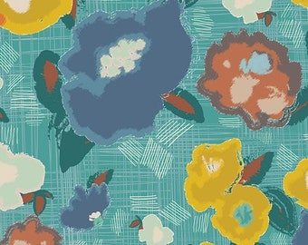 Artisan - Ad Lib Blooms Quiet - Pat Bravo - Art Gallery Fabrics (ART-53100)