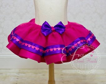 Butterfly Tutu, First Birthday Tutu, Pink and Purple Tutu, Dance Tutu, Toddler Tutu, First Birthday tutu, Custom Colors Available