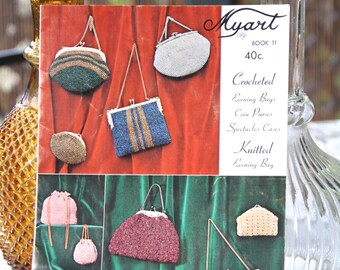 Vintage Crochet Bag Patterns - Myart Book 11