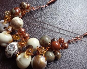 Chunky handmade necklace
