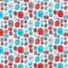 Cosmic Convoy-Little Visitors Red-Cloud9 Fabrics