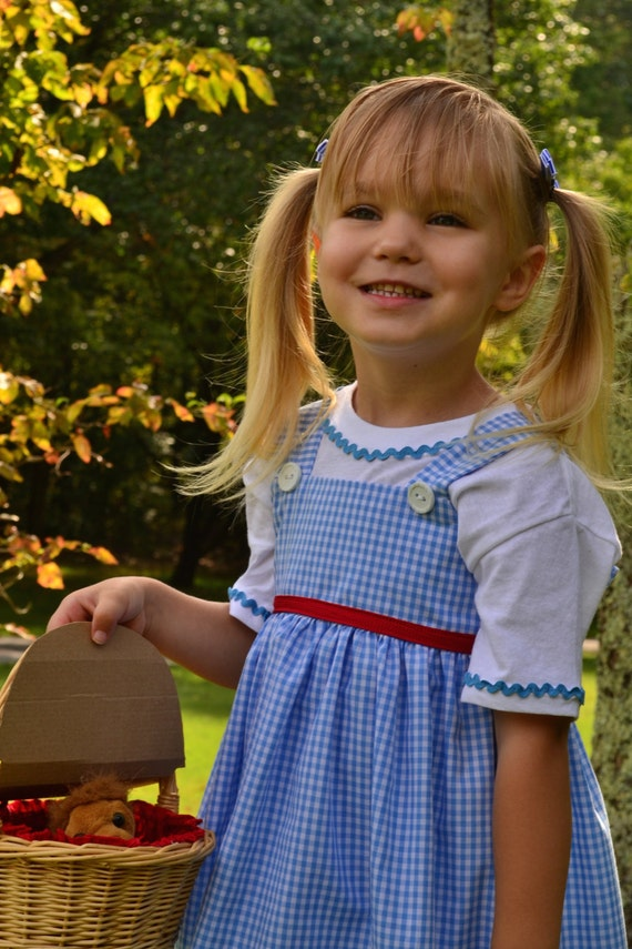 Girls Dorothy outfit from Wizard of Oz