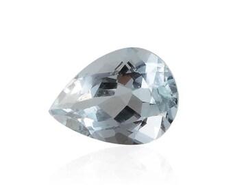 Aquamarine Loose Gemstone Pear Cut 1A Quality 7x5mm TGW 0.50 cts.