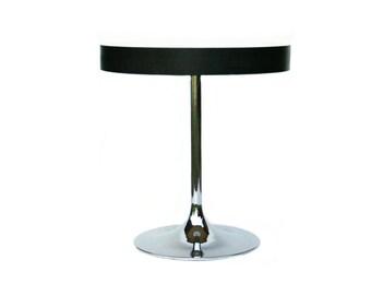 Danish kitchen table chromed tulip base