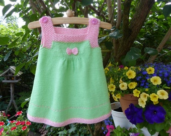 Baby pinafore dress, free shipping.