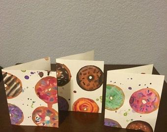Mini Donuts Stationary