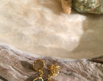 Organic a Form Natural Stone earrings