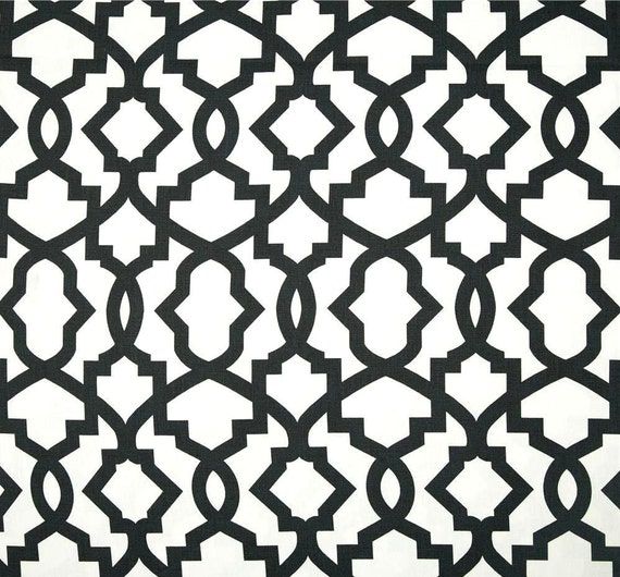 Designer Black White Contemporary Home Decor by CottonCircle