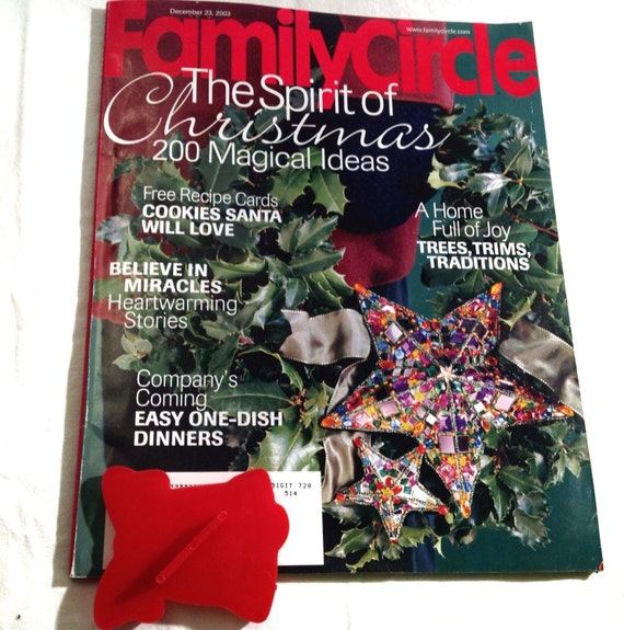 Christmas magazines scrapbooking craft ideas recipes holiday art decor